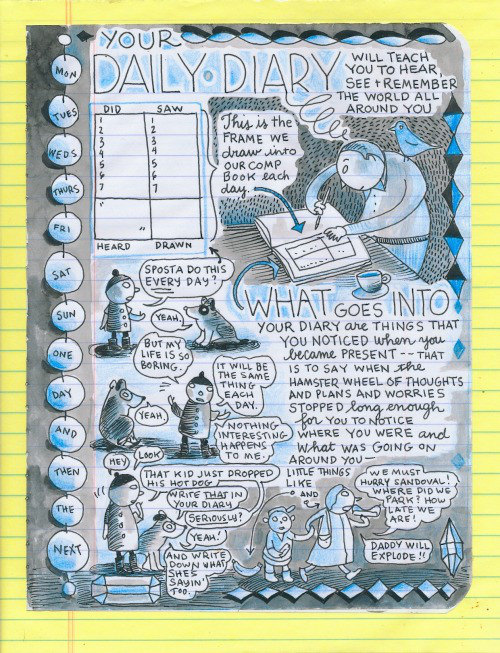 lynda daily diary