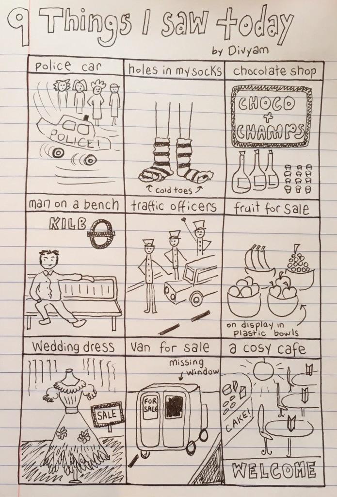 9 Things I saw